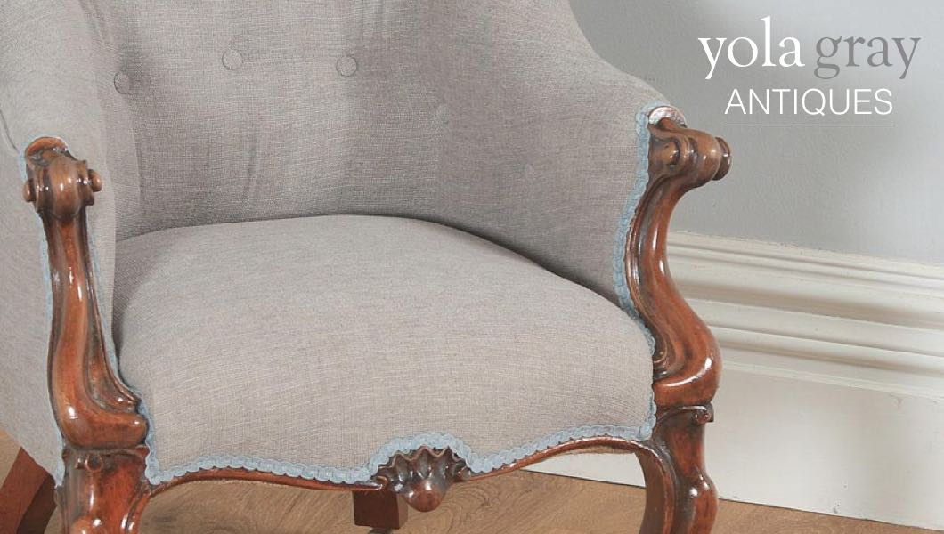 YOLA GRAY ANTIQUES: MEET YOUR FURNITURE – PART 1